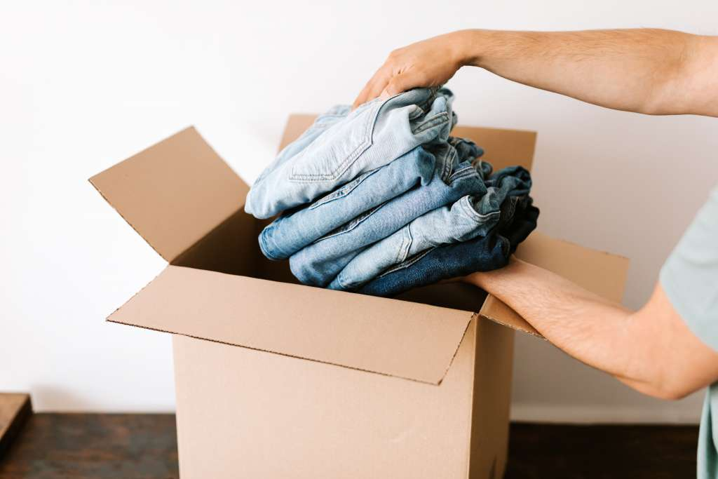 Packing Clothes Heritage Moving & Storage